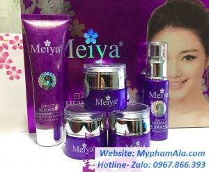 Mỹ phẩm trị nám tàn nhang dưỡng trắng da cao cấp Meiya – Nhật Bản (5in1)