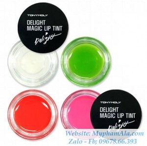 SON HŨ TONYMOLY- DELIGHT MAGIC LIP TINT