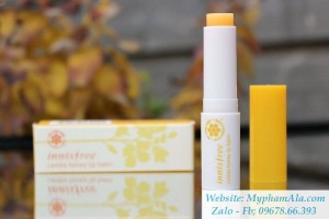 SON DƯỠNG MÔI INNISFREE CANOLA HONEY LIP BALM