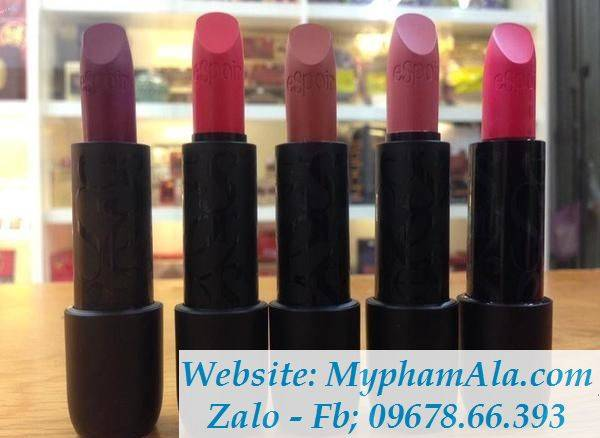 bang-mau-son-espoir-nowear-lipstick-han-quoc