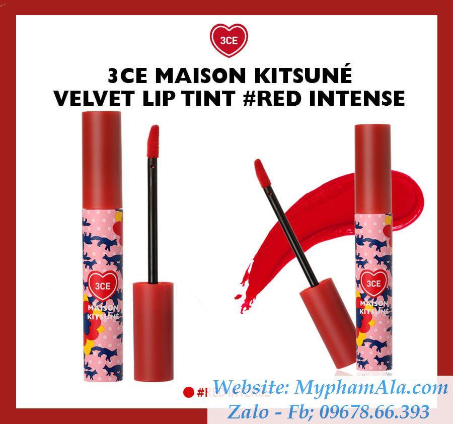 son-3ce-maison-kitsune-velvet-lip-tint-red-intense-do-cam-tuoi-2_result