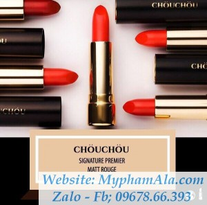 SON THỎI CHOU CHOU THE GREAT DESIRE MATTE ROUGE (MẪU MỚI)