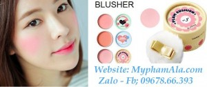 PHẤN MÁ HỒNG GIẤYTHE FACE SHOP LOVELY ME:EX PASTEL CUSHION BLUSHER