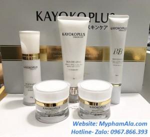 Bộ Mỹ Phẩm Kayoko Plus ( mới) trị nám tàn nhang hiệu quả  – Nhật Bản