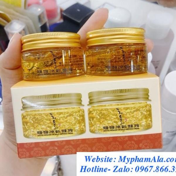 Set-kem-duong-da-lebelage-heeyul-premium-24k-gold-cream-700×609