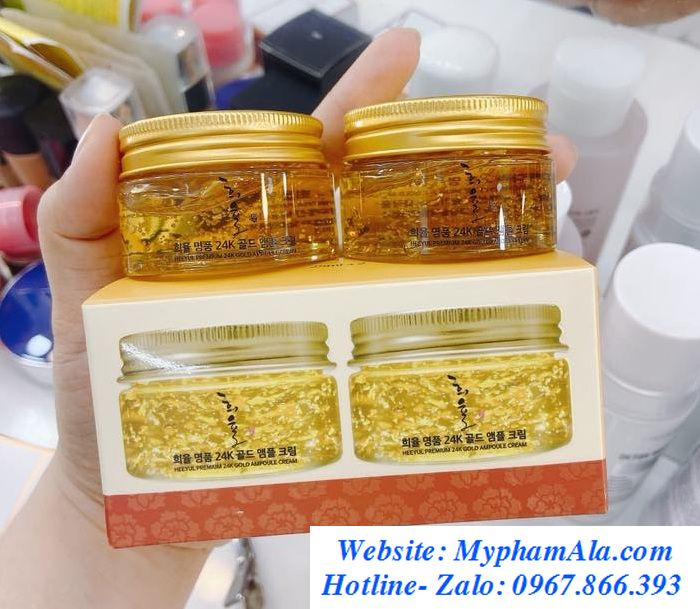 Set-kem-duong-da-lebelage-heeyul-premium-24k-gold-cream-700x609