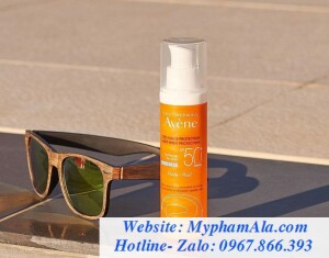 KEM CHỐNG NẮNG AVÈNE VERY HIGH PROTECTION FLUIDE-FLUID SPF50+