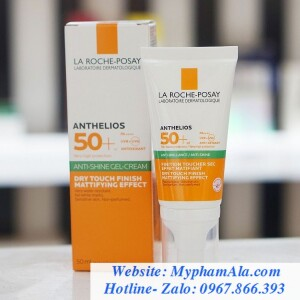 KEM CHỐNG NẮNG LA ROCHE POSAY ANTHELIOS XL GEL CREAM DRY TOUCH SPF 50+