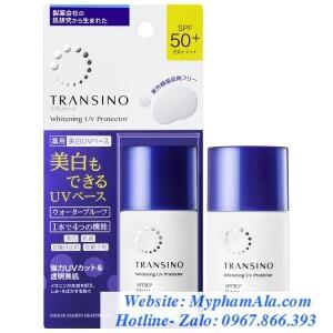 KEM DƯỠNG NGÀY CHỐNG NẮNG TRANSINO WHITENING UV PROTECTOR SPF50+ PA+++