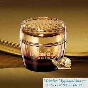 KEM DƯỠNG DA CHIẾT XUẤT ỐC SÊN VÀNG GOODAL PREMIUM GOLD SNAIL CREAM 50ML