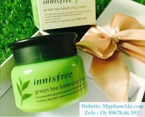 KEM DƯỠNG TRÀ XANH INNISFREE GREEN TEA BALANCING