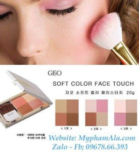 MÁ HỒNG GEO SOFT COLOR FACE TOUCH