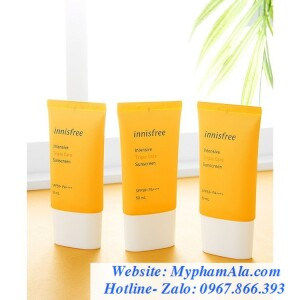 KEM CHỐNG NẮNG INNISFREE PERFECT UV PROTECTION CREAM ANTI POLLUTION SPF50+ PA++++ 50ML