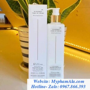 [NEW] SỮA TẮM TRUYỀN TRẮNG MEDIFFERNET IN SHOWER TONE UP CREAM